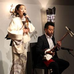 西尾夕紀さん 新曲「龍飛埼灯台」発表会 竜飛崎灯台