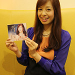 2013年12月4日、瀬口侑希さん の新曲「夢灯籠」が発売です。取材に行ってきました。
