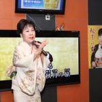 原田悠里、カラオケボックスで初の「秋月の女」キャンペーン 「昼カラ」を推進!