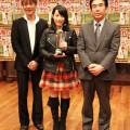 テイチク80周年記念オーディション 優勝は16歳の高校生・佐々木莉子さん