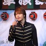 松尾雄史 新曲「北斗岬」発売イベントで渋谷系ギャルグループとコラボ!