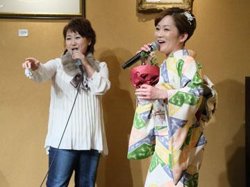 永井裕子 新曲「勝負坂」発売記念ライブ