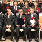 北島三郎、鳥羽一郎、水前寺清子などビッグな歌手が勢揃い!平成25年度 クラウンヒット賞贈呈式