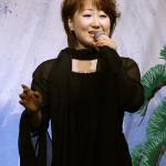 井上由美子、大雪のバレンタインデーに新曲「海峡吹雪」キャンペーン!永井裕子も飛び入り