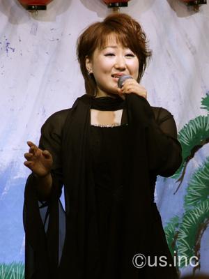 井上由美子 新曲「海峡吹雪」キャンペーン