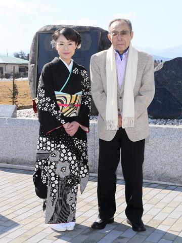 岩本公水「道の駅」発表会 船村徹氏と