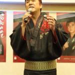 小金沢昇司 新曲「昭和の花」発表イベント Vシネマ主演も報告