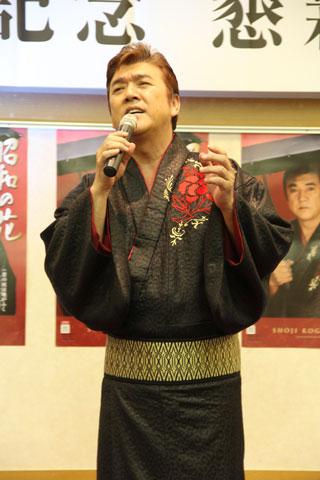 小金沢昇司「昭和の花」新曲発表イベント