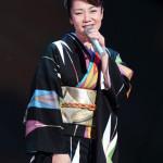 香西かおり 渋谷公会堂でコンサート 吉幾三が作詞・作曲した新曲「一夜宿」披露