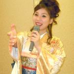 水城なつみ 20歳の誕生日に新曲「風未練」発売記念パーティー