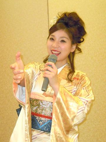 水城なつみ 新曲「風未練」発売記念パーティー