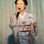 山口瑠美 「雨の錦帯橋」新曲発表会を開催 大人の男女の切ない別れを表現