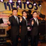 北川・藤原・岩出の3人ユニット、ザ・キングボーイズが新曲「涙のロンリーボーイ」発売記念イベント