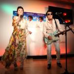レーモンド松屋 新曲発売を記念して茶話会!長山洋子と息もぴったりにデュエット