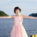 水森かおり 新曲の舞台、島根・隠岐の島を訪れる!同島で開催の「隠岐ジオ博 芸能まつり」に特別ゲスト出演