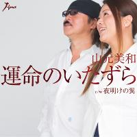 山元美和 with 小田純平さんの新曲「運命のいたずら」ジャケット写真