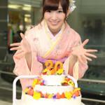 岩佐美咲(AKB48) 20歳のバースデー歌唱イベント「大人の女性になりたい」
