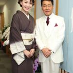 市川由紀乃 五木ひろしの新曲「渚の女」のプロモーションビデオに出演