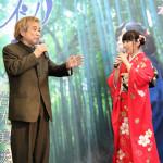岩佐美咲(AKB48)が新曲「初酒」発売記念イベント。ものまねをした稲川淳二がサプライズゲスト出演し、わさみん大感激