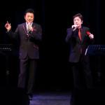 藤原浩が、新曲「骨まで凍える女です」を作曲した樋口義高さんとジョイントライブ。得意なものまねも披露