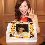 森口博子が47歳のバースデー&デビュー30周年記念スペシャルイベント。サプライズでバースデーケーキも