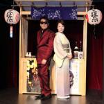 香西かおりとレーモンド松屋が浅草・花やしき座でジョイントイベント。昭和ムード歌謡で紅白宣言も
