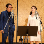 作曲生活50周年の浜圭介さんが、女優・松坂慶子と初デュエット。7月22日発売の「哀愁の札幌」を2人で公開レコーディング