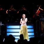 森口博子が東京国際フォーラムでデビュー30周年記念コンサート。30年をファンに感謝しながら全18曲熱唱