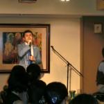 田中照久、イタリアン・レストランでカジュアルなライブを開催