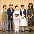 大月みやこと神野美伽稽古場取材会1