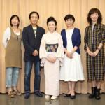 大月みやこと神野美伽がW主演の大阪・新歌舞伎座9月公演「結婚しない女たち」稽古場取材会。9月4日から