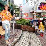 山本あきが第2の故郷、大田区の蒲田駅前で3回目のマンスリーライブ