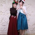 井上由美子と工藤あやのがクリスマスパーティー。デュエットも交えて全17曲熱唱