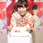 岩佐美咲が誕生日に浅草公会堂で初ソロコンサート。元AKB48の松井咲子が応援に。AKB48卒業発表