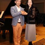 ■坂本冬美が新垣隆氏のピアノ演奏で30周年記念シングル「愛の詩 ピアノver」を公開レコーディング