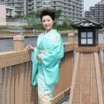 ■長山洋子が新曲「ふれ逢い橋」発売記念イベント。舞台の「小名木川」を訪れ、ヒットに意欲を