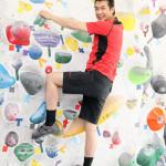 ■山川豊が7月25日を「山川の日」と制定し、チャレンジシリーズ第1弾として「ボルダリング」に初挑戦