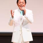 ■藤原浩が富山・大牧温泉を舞台にした新曲「雪舞いの宿」発表会。仁井谷俊也さんと徳久広司さんも応援に