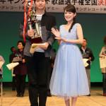 ■「2016年キングレコード歌謡選手権全国決勝大会」のグランドチャンピオンは17歳の佐藤亜蘭さんに決定。福田こうへい、丘みどりがゲスト出演