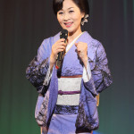 ■島津悦子が金沢でクリスマス&バースデーディナーショー。故・下地亜記子さんが作詞の「漁火の宿」も披露