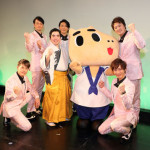 ■徳永ゆうきが新曲「津軽の風」発売記念イベント。ゲストのイケメングループ、純烈とコラボで歌&踊りを披露