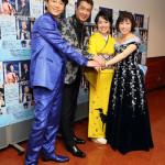 ■10回目の「長良グループ 演歌まつり2017」の東京公演で、山川豊、田川寿美、水森かおり、氷川きよしの4人が共演