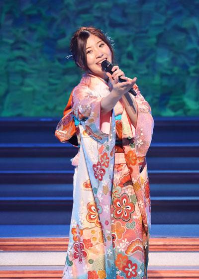 ソロコンサートでの岩佐美咲