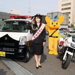 ■市川由紀乃が本所警察署の一日署長を務め、墨田区民に交通安全をPR。新曲「はぐれ花」が好スタート