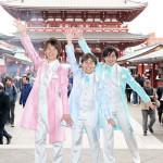■演歌新時代! 新世代歌謡グループ、はやぶさが浅草花やしき座で初のフルアルバム「はやぶさファースト」発売記念イベント