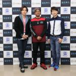 ■4月スタートの新番組「プレゼン!演歌男子。」でジェロ、パク・ジュニョン、川上大輔の3アーティストが共演