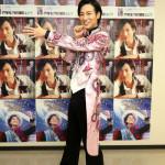 ■山内惠介が自身のプロデュースで全国29カ所ツアーの初日を東京・浅草公会堂で。銀幕歌謡ショーでは寅さんに