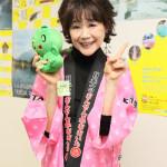 ■芹洋子が大分県を舞台にした新曲「温泉 大分 日本一」を7月1日に発売。大分県東京事務所で記者発表を