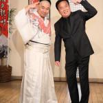 ■細川たかしが新曲「縁結び祝い唄/人生夢将棋」発表イベント。レイザーラモンRGと爆笑トークを