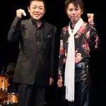 ■藤原浩と岩出和也が「FINE VOICE ブラザーズ」のユニット名でジョイントライブ。全23曲熱唱